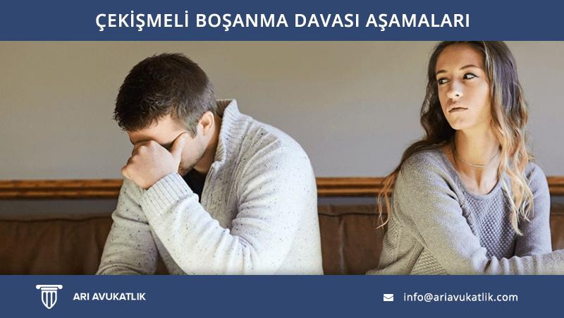 Çekişmeli Boşanma Davası Aşamaları