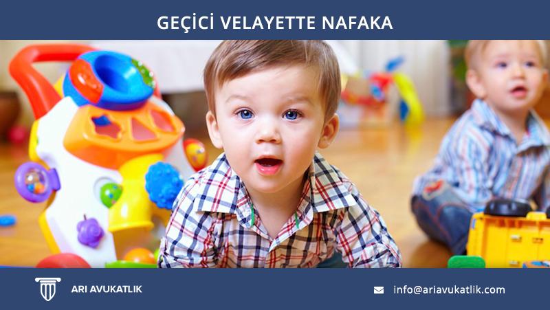 Geçici Velayette Nafaka