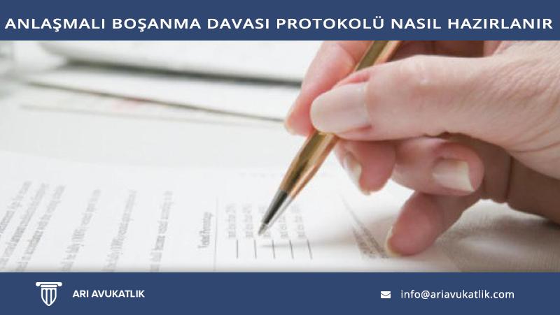 Anlaşmalı Boşanma Davası Protokolü Nasıl Hazırlanır